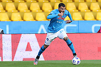 Andrea Petagna of SSC Napoli<br /> during the Serie A football match between Benevento Calcio and SSC Napoli at stadio Ciro Vigorito in Benevento (Italy), October 25th, 2020. <br /> Photo Cesare Purini / Insidefoto