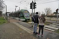 - Milan, ATM (Azienda Trasporti Milanesi), capolinea del tram linea 15 al quartiere Gratosoglio<br /> <br /> - Milan, ATM (Azienda Trasporti Milanesi), terminus of streetcar line 15 at Gratosoglio district