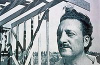 Rudolph M. Schindler: Portrait, c. 1939. Born in Vienna 1887. Died in Los Angeles, 1953.