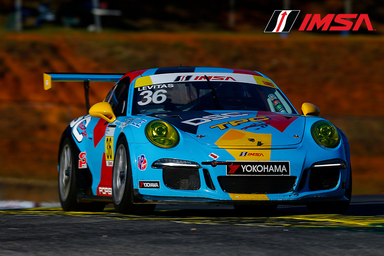 IMSA Porsche GT3 Cup Challenge USA<br /> Road Atlanta<br /> Road Atlanta, Braselton GA<br /> Wednesday 4 October 2017<br /> 36, Michael Levitas, GT3G, USA, 2015 Porsche 991<br /> World Copyright: Jake Galstad<br /> LAT Images