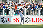 Rich Beem of USA tees off the first hole during the 58th UBS Hong Kong Golf Open as part of the European Tour on 08 December 2016, at the Hong Kong Golf Club, Fanling, Hong Kong, China. Photo by Marcio Rodrigo Machado / Power Sport Images