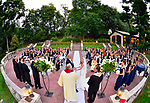 Tappan Hill Mansion<br /> Patio 0utdoor wedding ceremony