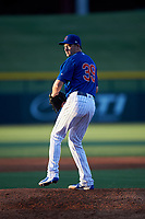 AZL Cubs 1 relief pitcher Allen Webster (39) makes a rehab appearance during an Arizona League game against the AZL Padres 1 on July 5, 2019 at Sloan Park in Mesa, Arizona. The AZL Cubs 1 defeated the AZL Padres 1 9-3. (Zachary Lucy/Four Seam Images)