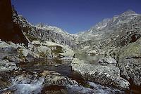 Europe/France/Midi-Pyrénées/65/Hautes-Pyrénées/Parc National des Pyrénées/Env Cauterets: Lac d'Embarrat inférieur