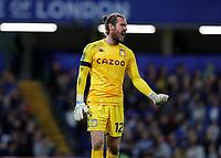 22nd September 2021; Stamford Bridge, Chelsea, London, England; EFL Cup football, Chelsea versus Aston Villa; Goalkeeper Jed Steer of Aston Villa