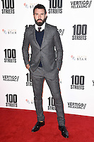 "Tom Cullen<br /> at the ""100 Streets"" UK premiere, Bfi South Bank, London.<br /> <br /> <br /> ©Ash Knotek  D3195  08/11/2016"