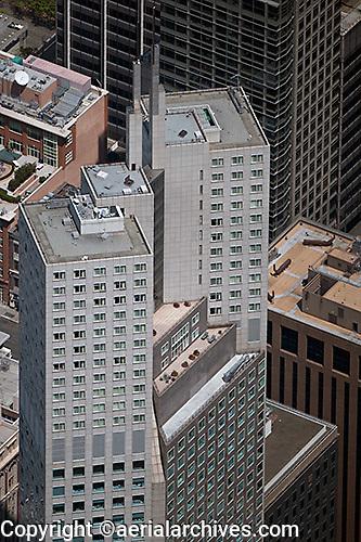 aerial photograph 345 California Center office tower San Francisco