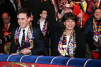 -- NO TABLOIDS NO SITE WEB - 41st International Circus Festival of Monte-Carlo Opening. H.S.H. Princess Stephanie of Monaco and son Louis Ducruet attend the 41st International Circus Festival of Monte-Carlo opening.