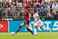 EAST HARTFORD, CT - JULY 5: Alex Morgan #13 of the United States during a game between Mexico and USWNT at Rentschler Field on July 5, 2021 in East Hartford, Connecticut.
