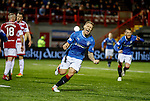 Martyn Waghorn celebrates his goal for Rangers