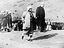 Iraq 1970.Mustafa Barzani with Fouad Aref.Irak 1970.Le general Barzani avec Fouad Aref.