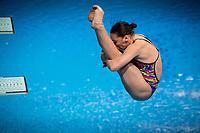 Kesar Viktoriya UKR<br /> Diving - Women's 3m preliminary<br /> XXXV LEN European Aquatic Championships<br /> Duna Arena<br /> Budapest  - Hungary  15/5/2021<br /> Photo Giorgio Perottino / Deepbluemedia / Insidefoto