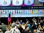 LOUISVILLE, KY - MAY 01: The full field is set for the 144th Kentucky Derby during the Kentucky Derby Post Draw at Churchill Downs on May 1, 2018 in Louisville, Kentucky. (Photo by Scott Serio/Eclipse Sportswire/Getty Images)