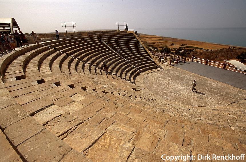 Zypern (Süd), antikes Theater in Kourion