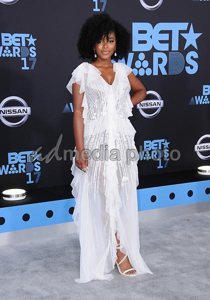 25 June 2017 - Los Angeles, California - Lovie Simone. 2017 BET Awards held at the Microsoft Square in Los Angeles. Photo Credit: Birdie Thompson/AdMedia