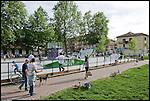 CIRCOSCRIZIONE 7 - Area giochi sul Viale Suor Giovanna Francesca Michelotti.