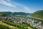 Deutschland, Rheinland-Pfalz, Moseltal, Treis-Karden: Ortsteil Treis | Germany, Rhineland-Palatinate, Moselle Valley, Treis-Karden: district Treis at river Moselle