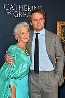 """LOS ANGELES, USA. October 18, 2019: Helen Mirren & Jason Clarke at the premiere of HBO's """"Catherine the Great"""" at the Hammer Museum.<br /> Picture: Paul Smith/Featureflash"""