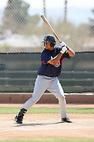 Delvi Cid, Cleveland Indians 2010 minor league spring training..Photo by:  Bill Mitchell/Four Seam Images.