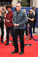 "LONDON, UK. June 16, 2019: Tom Hanks arriving for the ""Toy Story 4"" premiere at the Odeon Luxe, Leicester Square, London.<br /> Picture: Steve Vas/Featureflash"