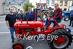 Attending the Ardfert Vintage Tractor run fundraiser for Kerry Cork Cancer Support Group in Ardfert on Sunday, l to r: Niall Byrne, Gerard and Billy O'Connor, Denis Hegarty and Sean Dineen.
