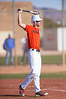 Quintin Kirch (44), from Indianapolis, Indiana, while playing for the Orioles during the Under Armour Baseball Factory Recruiting Classic at Gene Autry Park on December 30, 2017 in Mesa, Arizona. (Zachary Lucy/Four Seam Images)