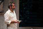 """Jorge Bosch during theater play of """"Invencible"""" at Teatros del Canal in Madrid. October 27, Spain. 2016. (ALTERPHOTOS/BorjaB.Hojas)"""