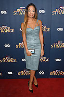 "Sarah Jane Crawford<br /> at the ""Doctor Strange"" launch event, Westminster Abbey, London.<br /> <br /> <br /> ©Ash Knotek  D3189  24/10/2016"