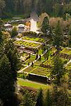 Aerial View of Washington Park in Portland, Oregon