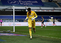 17th February 2021; The Kiyan Prince Foundation Stadium, London, England; English Football League Championship Football, Queen Park Rangers versus Brentford; Goalkeeper David Raya of Brentford