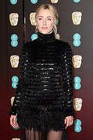Saoirse Ronan<br /> arriving for the BAFTA Film Awards 2018 at the Royal Albert Hall, London<br /> <br /> <br /> ©Ash Knotek  D3381  18/02/2018