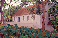 Historical Hale Pai, which is one of the oldest American schools and contains a printing press that created books in Hawaiian