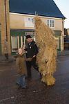 Straw Bear Festival. Whittlesea Whittlesey Cambridgeshire UK 2008. Straw Bear.
