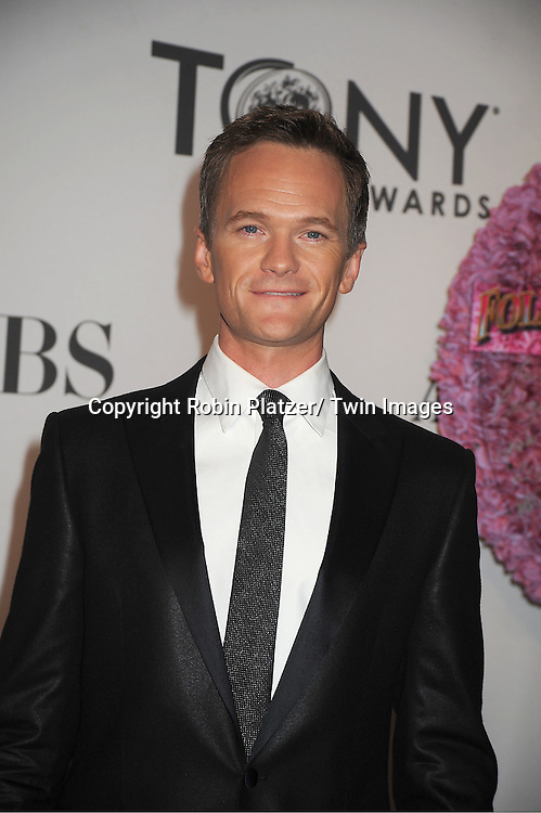 Neil Patrick Harris attends th 66th Annual Tony Awards on June 10, 2012 at The Beacon Theatre in New York City.