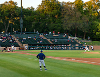 STANFORD, CA - JUNE 5: Sunken Diamond during a game between UC Irvine and Stanford Baseball at Sunken Diamond on June 5, 2021 in Stanford, California.