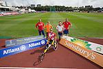 IPC European Athletics Championship 2014<br /> Swansea University<br /> L-R: Aled Davies, Marlou van Rhijn, Marcel Hug, Stefanie Reid & Dan Greaves.<br /> 18.08.14<br /> ©Steve Pope-SPORTINGWALES