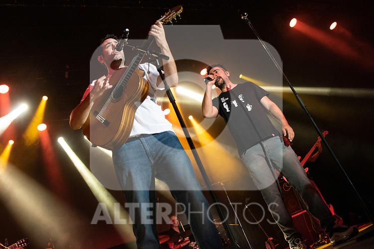 José and David Manuel Muñoz Calvo during the concert of VODAFONE YU MUSIC SHOWS<br /> ESTOPA. <br /> <br /> October 2, 2019. (ALTERPHOTOS/David Jar)