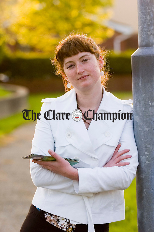 Sinn Fein General election candidate Anna Prior. Photograph by John Kelly.