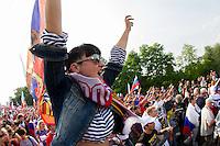 Tifosi Russia .12/6/2012 Varsavia .Football Calcio Euro 2012 .Russia Vs Polonia.foto Insidefoto / EXPA/ Sportida/ Vid Ponikvar