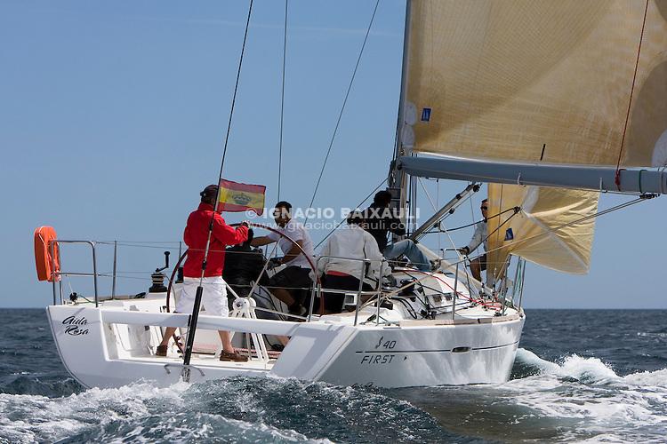 Aida Rosa .I REGATA CAP I CUA, Oliva-Canet d'en Berenguer. 6-7- Junio 2009