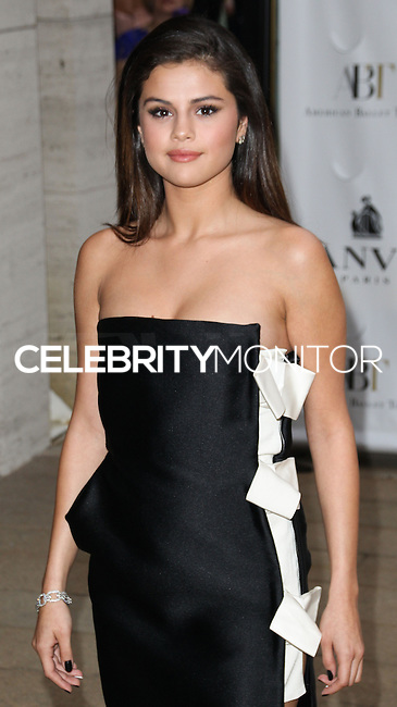 NEW YORK CITY, NY, USA - MAY 12: Selena Gomez at the American Ballet Theatre 2014 Opening Night Spring Gala held at The Metropolitan Opera House on May 12, 2014 in New York City, New York, United States. (Photo by Celebrity Monitor)