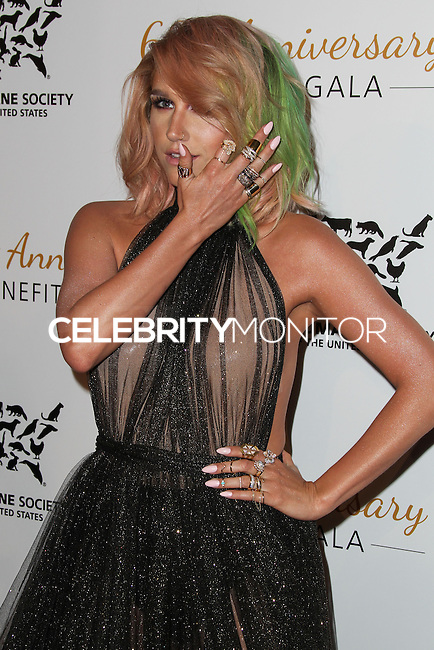 BEVERLY HILLS, CA, USA - MARCH 29: Kesha at The Humane Society Of The United States 60th Anniversary Benefit Gala held at the Beverly Hilton Hotel on March 29, 2014 in Beverly Hills, California, United States. (Photo by Xavier Collin/Celebrity Monitor)