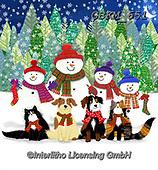 Kate, CHRISTMAS SANTA, SNOWMAN, WEIHNACHTSMÄNNER, SCHNEEMÄNNER, PAPÁ NOEL, MUÑECOS DE NIEVE, paintings+++++,GBKM651,#x#