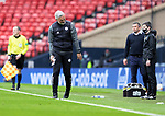 St Mirren v St Johnstone…09.05.21  Scottish Cup Semi-Final Hampden Park <br />St Mirren manager Jim Goodwin doesn't like what he sees<br />Picture by Graeme Hart.<br />Copyright Perthshire Picture Agency<br />Tel: 01738 623350  Mobile: 07990 594431