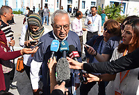mr salam fayyad from international observatory during the tunisian election tunisia in 13.october2019
