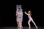 THE CONCERT..OU LES MALHEURS DE CHACUN....Choregraphie : ROBBINS Jerome..Mise en scene : ROBBINS Jerome..Compositeur : CHOPIN Frederic..Compagnie : Ballet de l Opera National de Paris..Lumiere : TIPTON Jennifer..Costumes : SHARAFF Irene..Avec :..GILBERT Dorothee : la ballerine..BANCE Caroline : une fille en colere avec lunettes..Lieu : Opera Garnier..Ville : Paris..Le : 20 04 2010..© Laurent PAILLIER / photosdedanse.com..All rights reserved