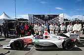 Colton Herta, Harding Steinbrenner Racing Honda, Race Winner, Crew