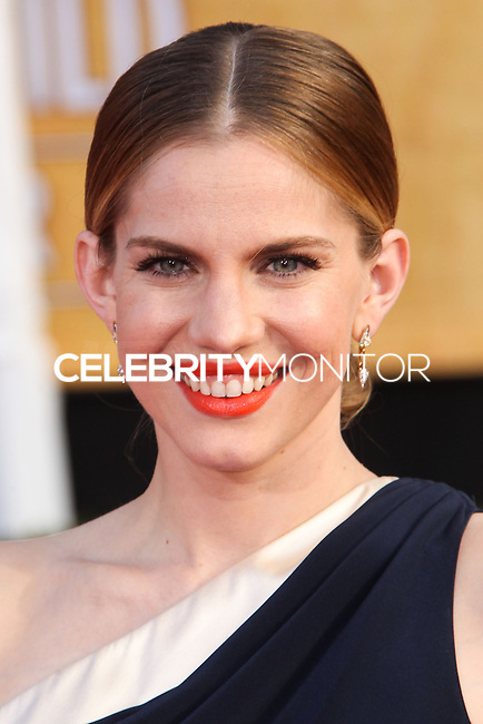 LOS ANGELES, CA - JANUARY 18: Anna Chlumsky at the 20th Annual Screen Actors Guild Awards held at The Shrine Auditorium on January 18, 2014 in Los Angeles, California. (Photo by Xavier Collin/Celebrity Monitor)