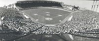 Packed house: A crowd of 41;284 turned out at Exhibition Stadium yesterday for the Blue Jays' home opener; the second-best inaugural attendance in the team's nine-season history. Only the first opener in 1977 drew more<br /> <br /> Photo : Boris Spremo - Toronto Star archives - AQP