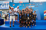 U-11 and U-12 Cup Final Prize Ceremony during the Juniors tournament of the HKFC Citi Soccer Sevens on 22 May 2016 in the Hong Kong Footbal Club, Hong Kong, China. Photo by Lim Weixiang / Power Sport Images